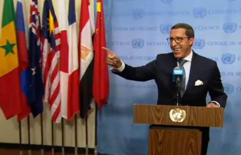 L'ambassadeur du Maroc à l'ONU : «  le référendum est terminé  » concernant la question du Sahara