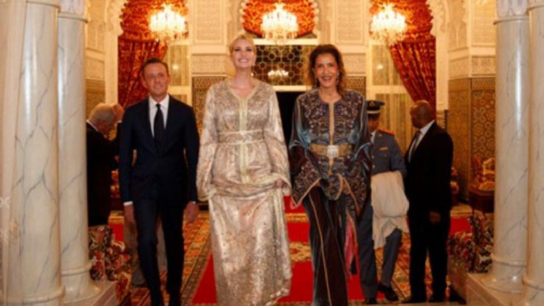 Ivanka Trump brille dans un caftan marocain lors du dîner royal