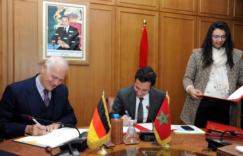 L'Allemagne et le Maroc signent un accord de croissance économique durable