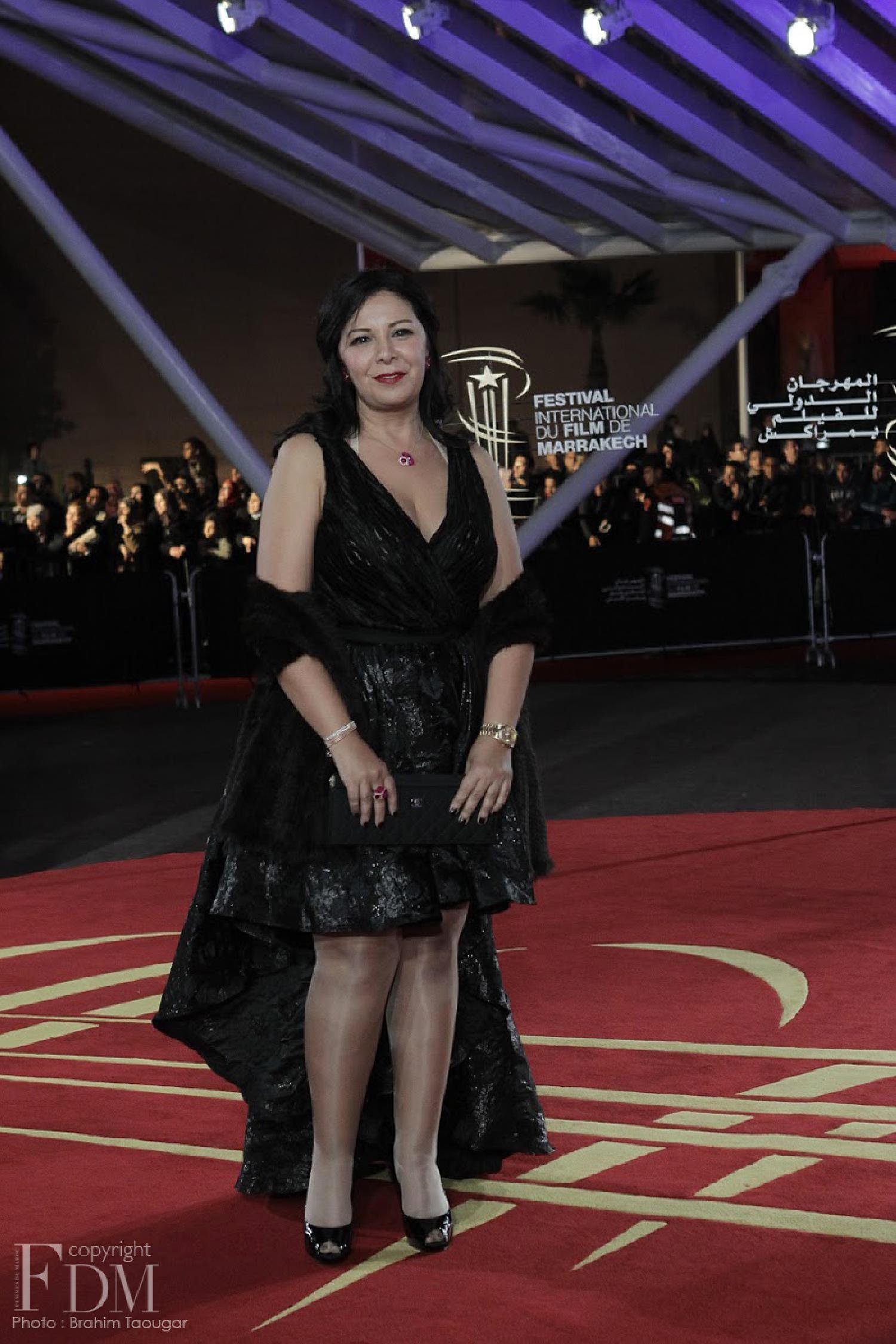 Le Festival du Film de Marrakech honore l'actrice marocaine Mouna Fettou