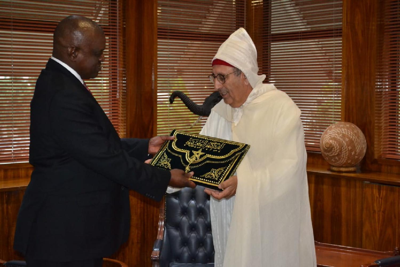 Le Botswana et le Maroc renforcent leurs liens avec l'arrivée du  nouvel ambassadeur à Gaborone