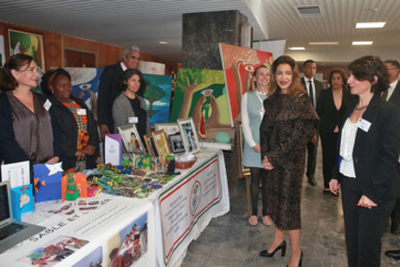 La princesse Lalla Meryem inaugure le 30eme bazar international de charité