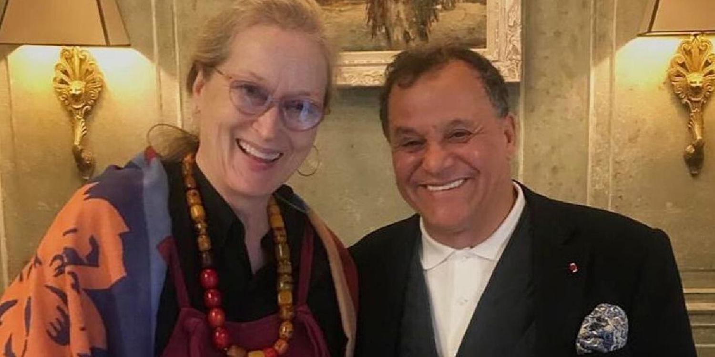 La superstar hollywoodienne Meryl Streep profite des vacances d'hiver à Marrakech