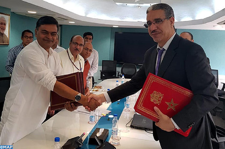 Le Maroc s'engage à poursuivre sa coopération et à diversifier ses partenariats avec l'Inde