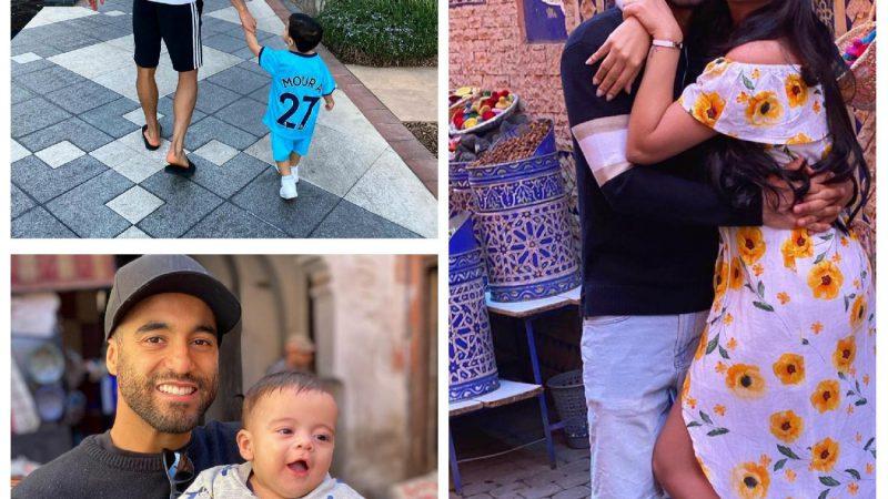 La star du football, Lucas Moura, profite du soleil à Marrakech