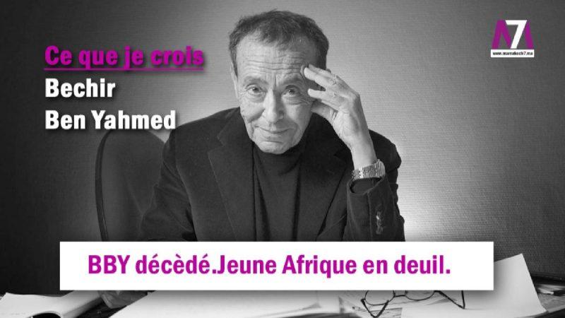 BBY décèdé.Jeune Afrique en deuil.