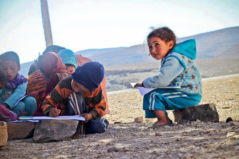 Sur le chemin des écoles à sauver Tidili-Al Haouz-Marrakech