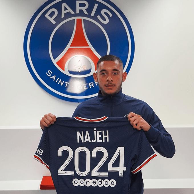 Premier contrat pro du Marocain Kaïs Najeh au PSG