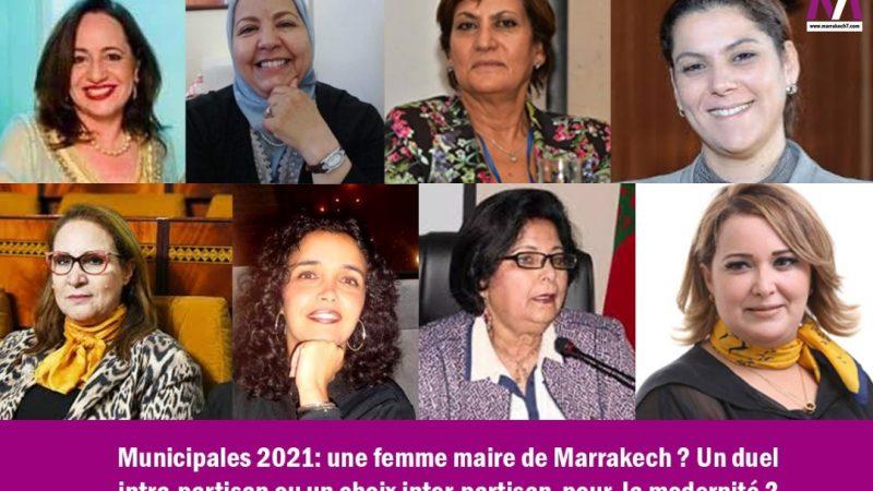 Municipales 2021: une femme maire de Marrakech ? Un duel intra-partisan ou un choix inter-partisan pour la modernité ?