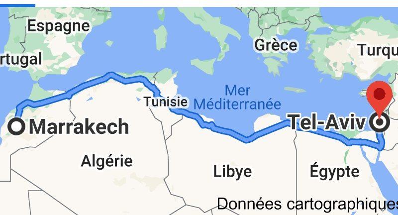 Marrakech place tournante de la ruée vers l'or israélien ? Tel Aviv s'activ et fait bouger toutes les lignes.