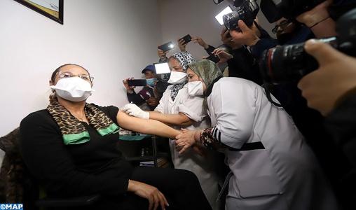 Covid-19 au Maroc: plus de 9 millions de personnes ont reçu la première dose de vaccins