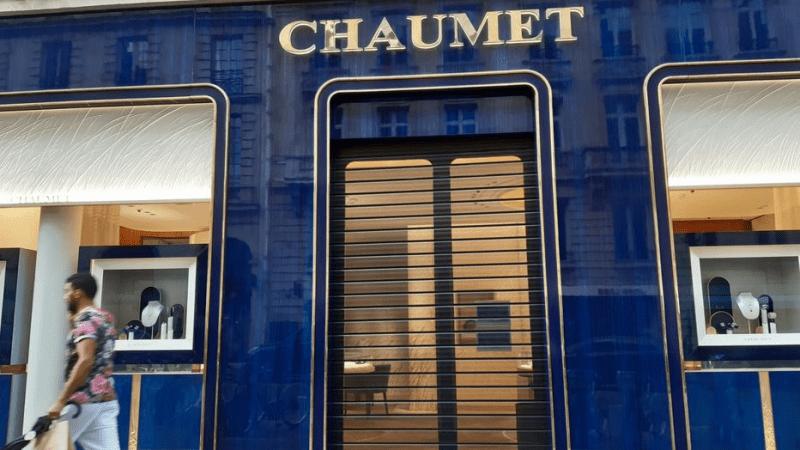 Une bijouterie de luxe braquée à paris un butin de 2 à 3 M€ dérobé